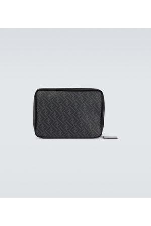 Fendi Laptop-Tasche FF aus Leder
