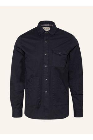 Fil Noir Herren Freizeit - Hemd Leonardo Regular Fit blau