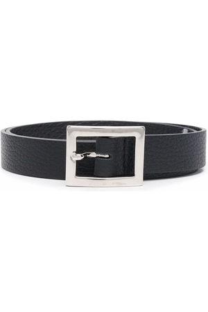 P.a.r.o.s.h. Mädchen Gürtel - Pebbled leather belt