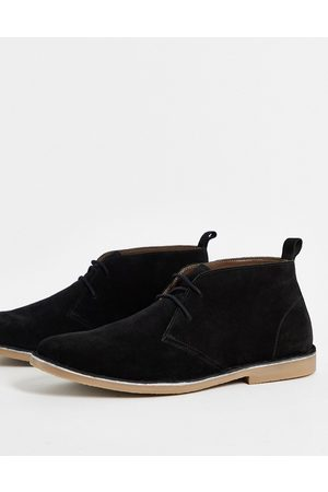 French Connection Desert boot in black