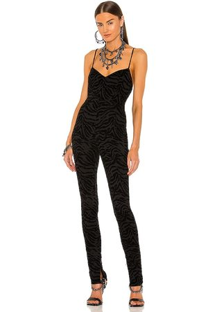 DUNDAS x REVOLVE Ramone Catsuit in - Black. Size L (also in XL).