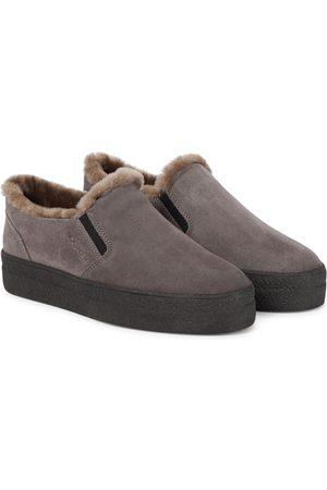 Bogner Damen Sneakers - Slip-ons Denver aus Veloursleder