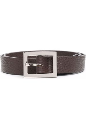 P.a.r.o.s.h. Pebbled leather belt