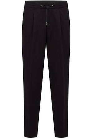 HUGO BOSS Relaxed-Fit Hose mit Logo-Tape