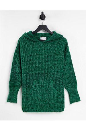 ASOS Premium lounge space dye hoodie in green