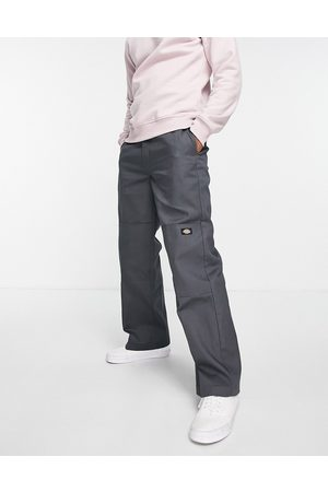 Dickies Double Knee trousers in charcoal grey