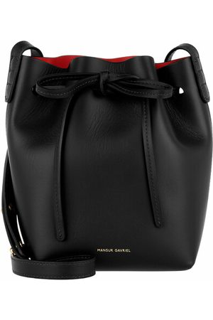 Mansur Gavriel Damen Umhängetaschen - Bucket Bags Mini Mini Bucket Bag - in black - Umhängetasche für Damen