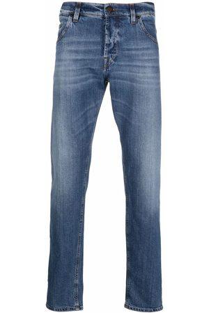 PT05 Fadded-effect straight-leg jeans