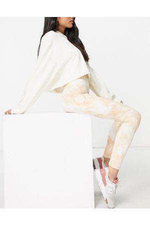 Aerie Hugger legging in tie dye-White