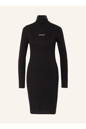 Calvin Klein Damen Freizeitkleider - Strickkleid