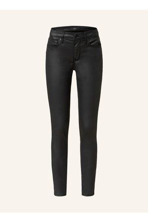Mavi Damen Skinny - Skinny Jeans Adriana In Lederoptik