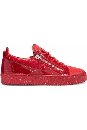 Giuseppe Zanotti Herren Sneakers - Glitter-embellished Frankie sneakers