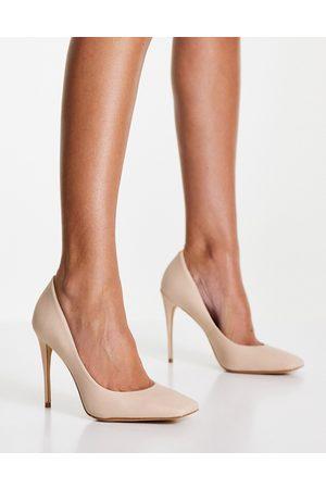 Aldo Ralivia heeled court shoes in bone-Neutral