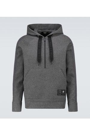 Fendi Herren Sweatshirts - Hoodie aus einem Kaschmirgemisch