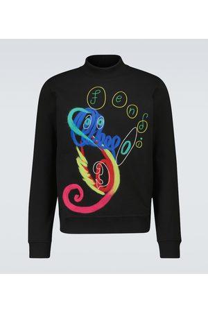 Fendi Bedrucktes Sweatshirt aus Baumwolle