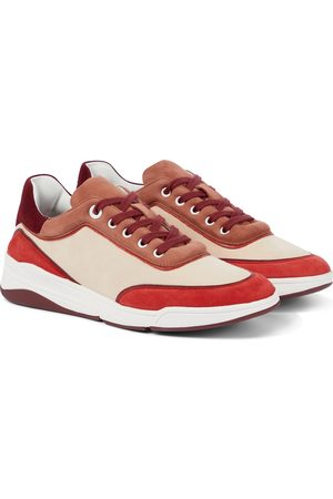 Loro Piana Sneakers Play aus Veloursleder
