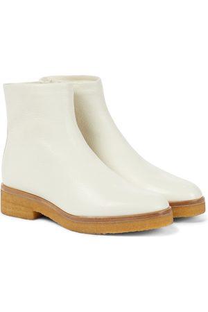 The Row Damen Stiefeletten - Ankle Boots Boris aus Leder