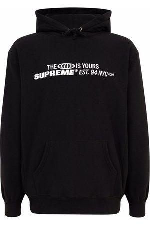Supreme Sweatshirts - The World is Yours printed hoodie