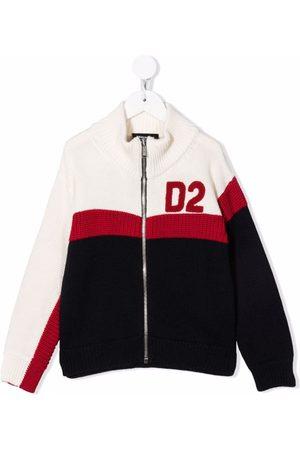 Dsquared2 Logo zipped cardigan