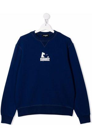 Dsquared2 TEEN logo print sweatshirt