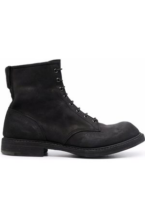 Premiata Faded lace-up ankle boots