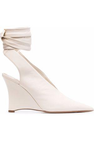 Emilio Pucci Damen Pumps - Ankle-tie wedge pumps