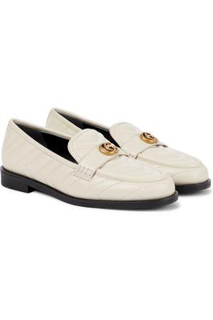 Gucci Loafers GG Marmont aus Leder