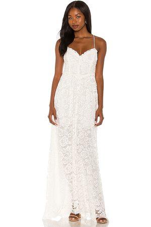 For Love & Lemons Damen Lange Kleider - Joelle Maxi Dress in - . Size L (also in M, S, XS).