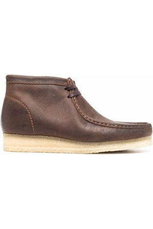 Clarks Pell lace-up boots