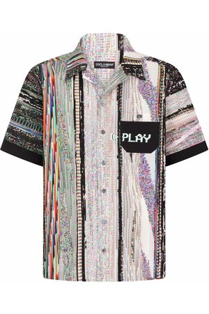 Dolce & Gabbana Graphic-print short-sleeve shirt