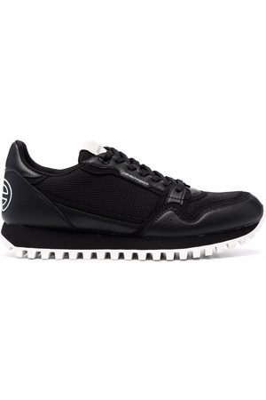 Emporio Armani Low-top lace-up trainers