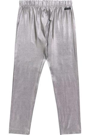 Dolce & Gabbana Leggings in Metallic-Optik