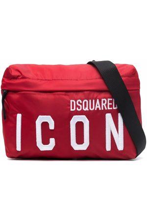 Dsquared2 Gürtel - TEEN logo-embroidered belt bag