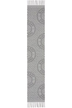 Burberry Schals - TB-Monogram cashmere scarf