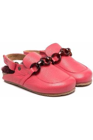 PèPè Chain-trimmed loafers