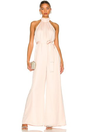 Lovers and Friends Hayes Jumpsuit in - Neutral. Size L (also in M, S, XL, XS, XXS).