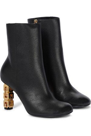 Givenchy Ankle Boots G Cube aus Leder