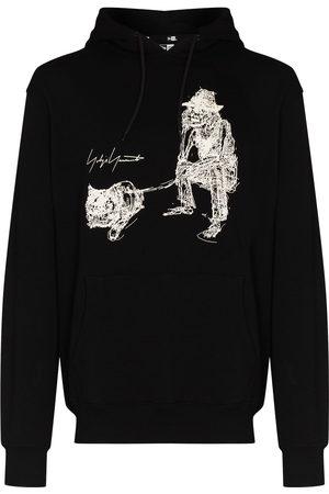 YOHJI YAMAMOTO Herren Sweatshirts - X New Era graphic-print hoodie