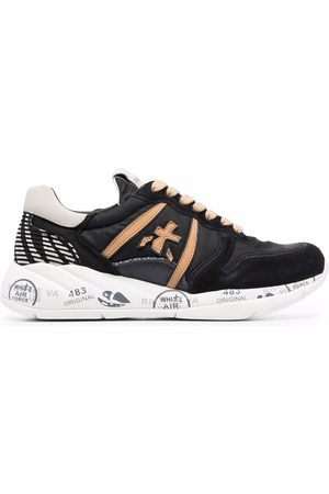 Premiata Layla panelled low-top sneakers