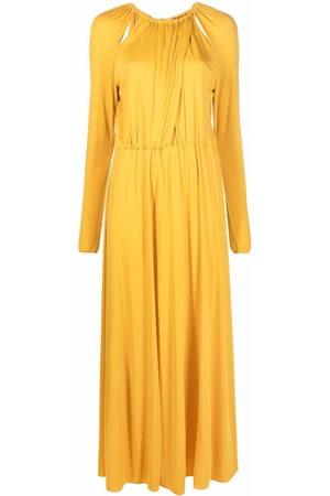 Emilio Pucci Damen Lange Kleider - Gathered cut-out maxi dress