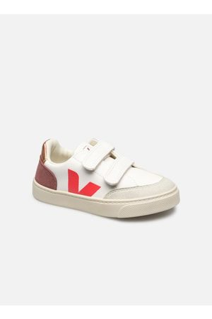 Veja Damen Sneakers - V-12 SMALL LEATHER by