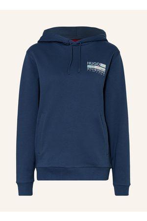 HUGO BOSS Damen Sweatshirts - Hoodie Dasweater blau