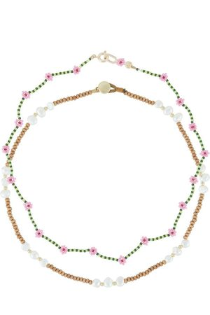 Roxanne Assoulin Seagrass set of two necklaces
