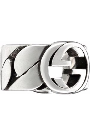 Gucci Small Interlocking G ear cuff