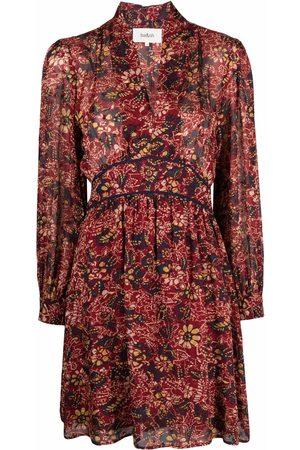 Bash Giani floral-print mini-dress