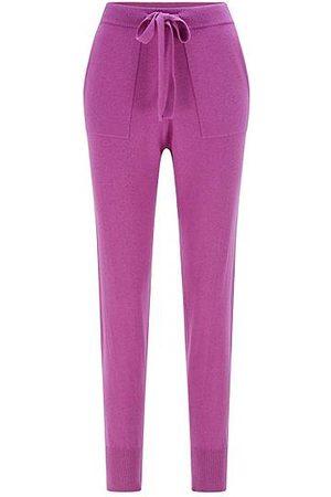 HUGO BOSS Damen Hosen & Jeans - Relaxed-fit trousers in a wool blend