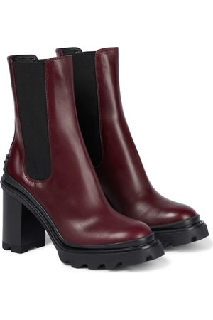 Tod's Damen Stiefeletten - Chelsea Boots aus Leder