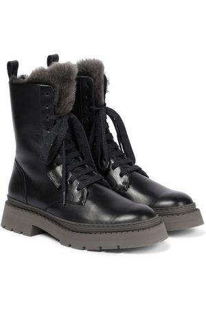 Brunello Cucinelli Damen Stiefeletten - Exklusiv bei Mytheresa – Ankle Boots aus Leder