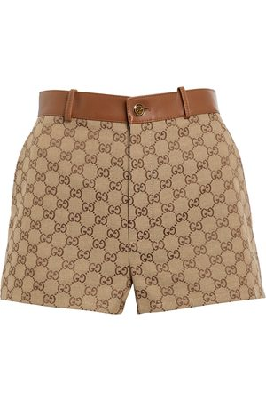 Gucci Shorts aus GG Supreme Canvas