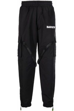 BARROW Logo print track pants